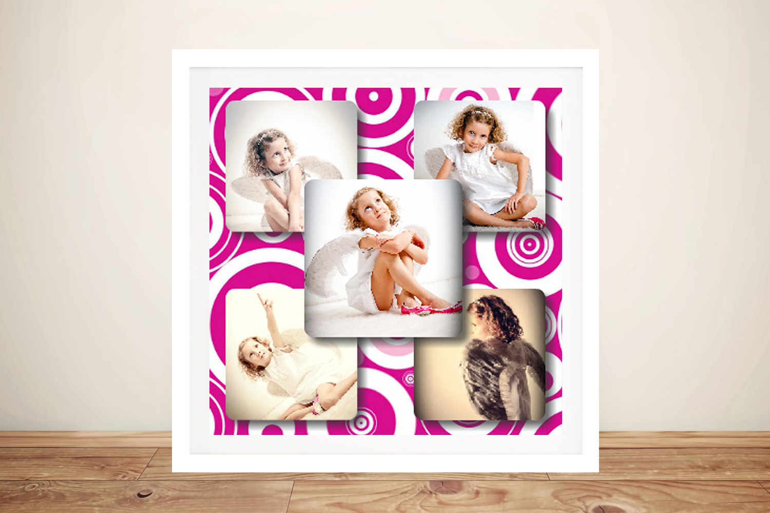 Collage Framed Wall Art | Even Squares