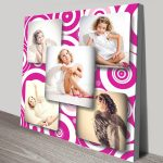 Pink-Photo-Collage-canvas-print