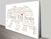 Bear Outline Personalised Wall Art Gift Ideas