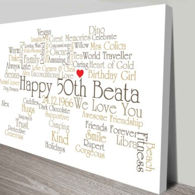 Bear Outline Personalised Wall Art Gift Ideas | Bear Outline Art