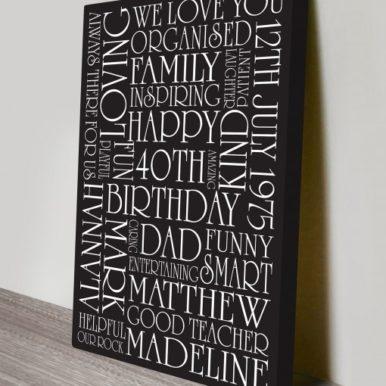 custom word art present ideas | Creative Elegance