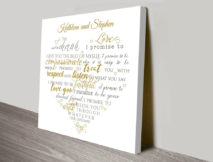 personalised heart shaped word art