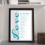 Gorgeous-Word-Art-Framed-Print