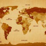 Push-Pin-Vintage-World-Map-Art
