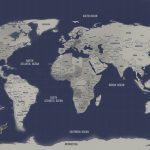 Navy-Blue-World-Map-Art