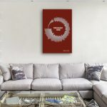 Comfortably-Numb-Soundwave-Art-canvas-wall-picture