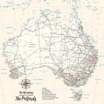 Personalised-Australia-Cream-Map-Art