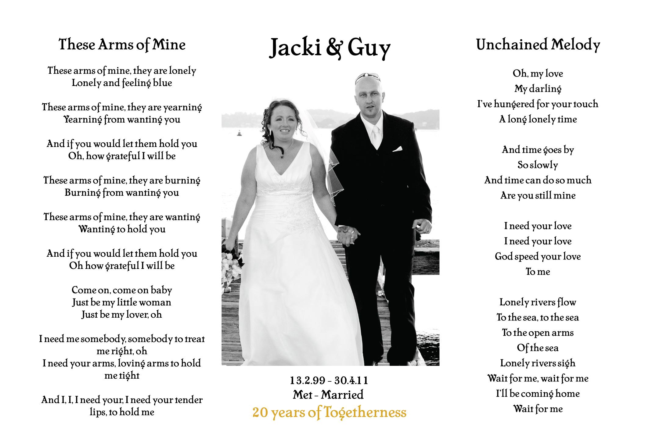 Personalised wedding vowels art