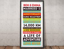 Design your own Retro Style Vintage Tram Scrolls