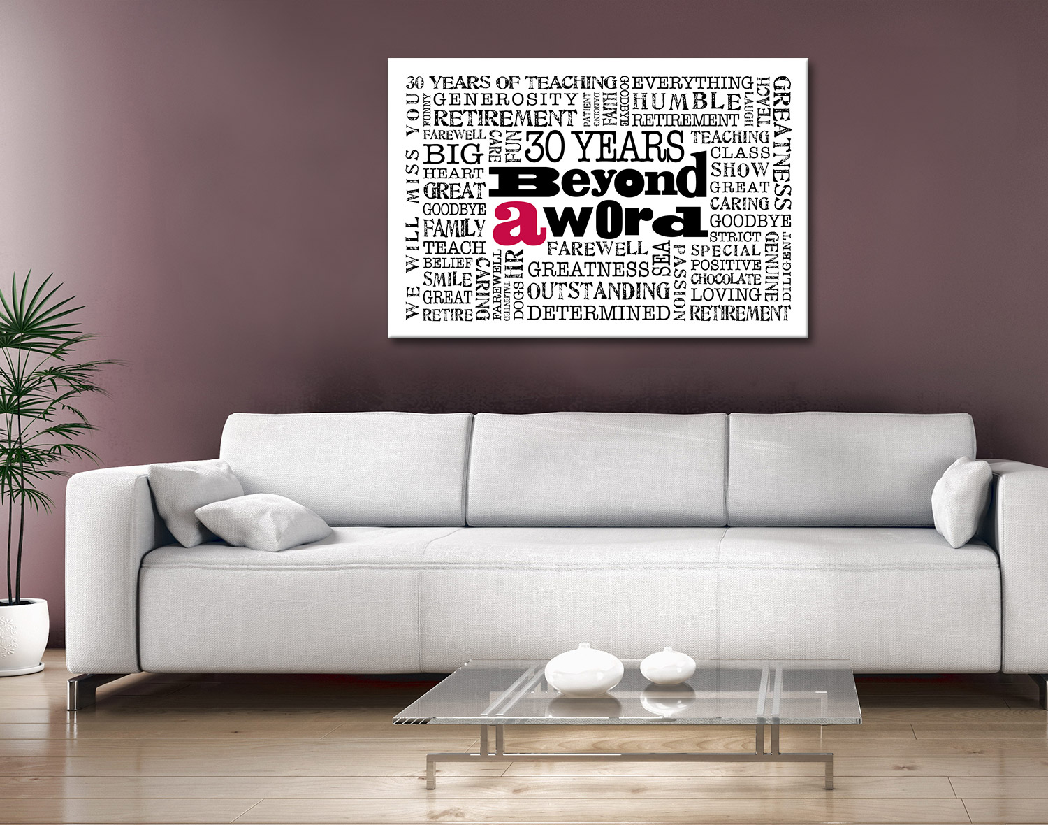 Corporate Gifts personalised Art