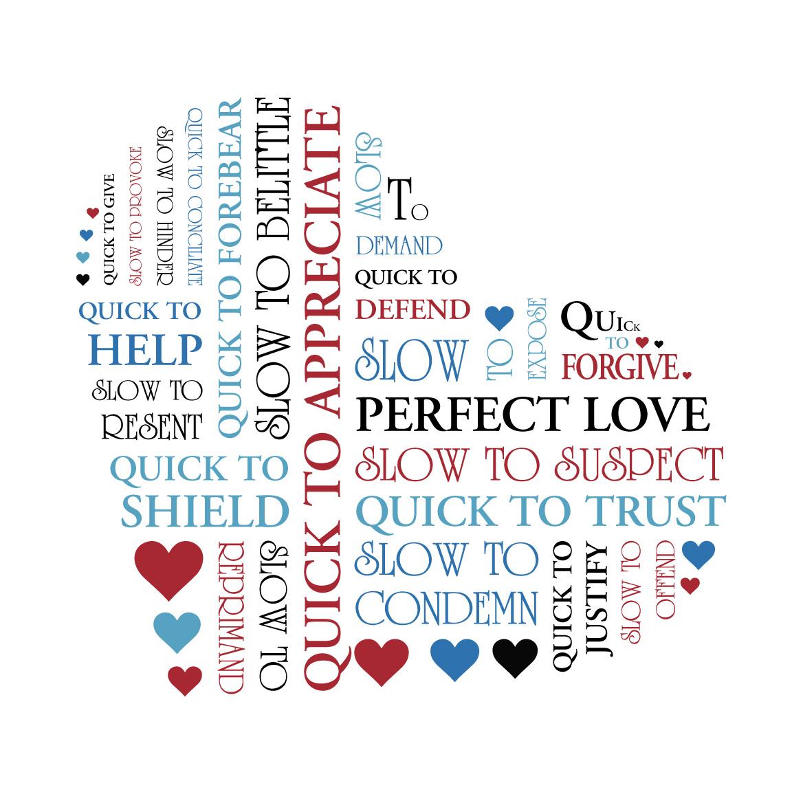 Heart Word Art Australia