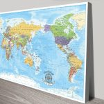 Pacific-Centred-World-Map-Pinboard