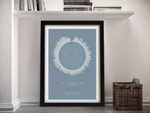 Rolling Sound Framed Wall Art