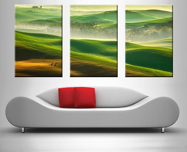 3 panel art