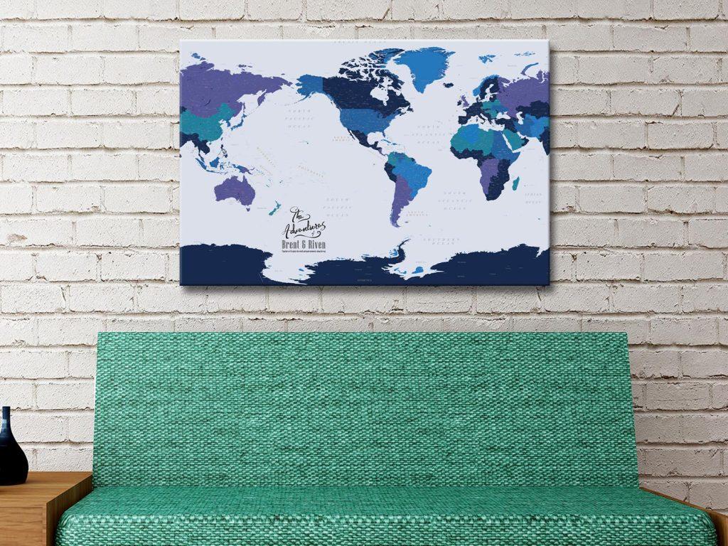 Buy Affordable Custom Design Map Art Prints