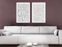 Wedding Vows Canvas Print