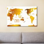 Personalised-Australia-Centric-White-Gold-Push-Pin-Map