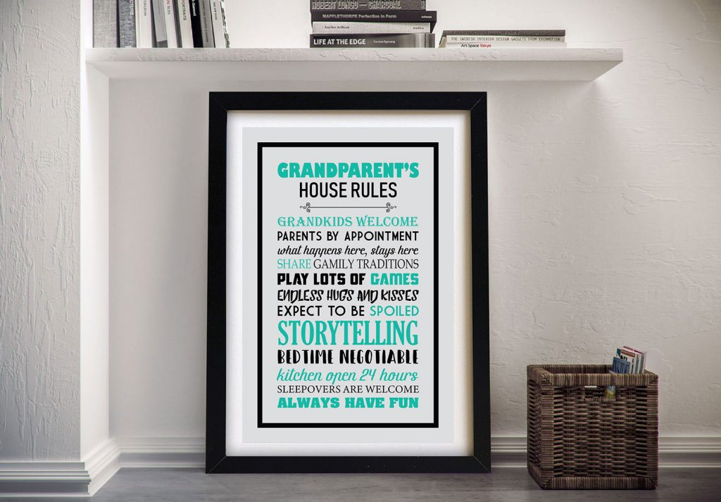 Buy House Rules the Perfect Gift for Grandparents