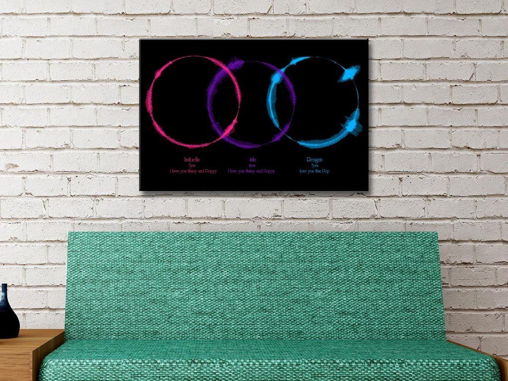 Buy Soundwave Canvas Wall Art