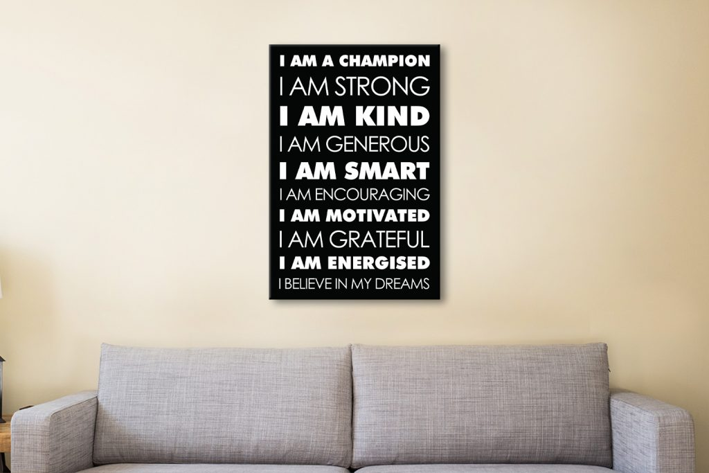 Daily Affirmations Unique Gifts for Her AU