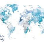 Ocean-Soft-Tones-World-Map