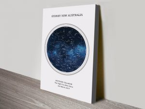 Personalised Star Maps Art of the Night Sky
