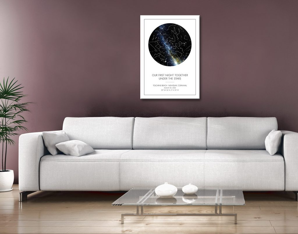 Personalised Star Map Framed Prints