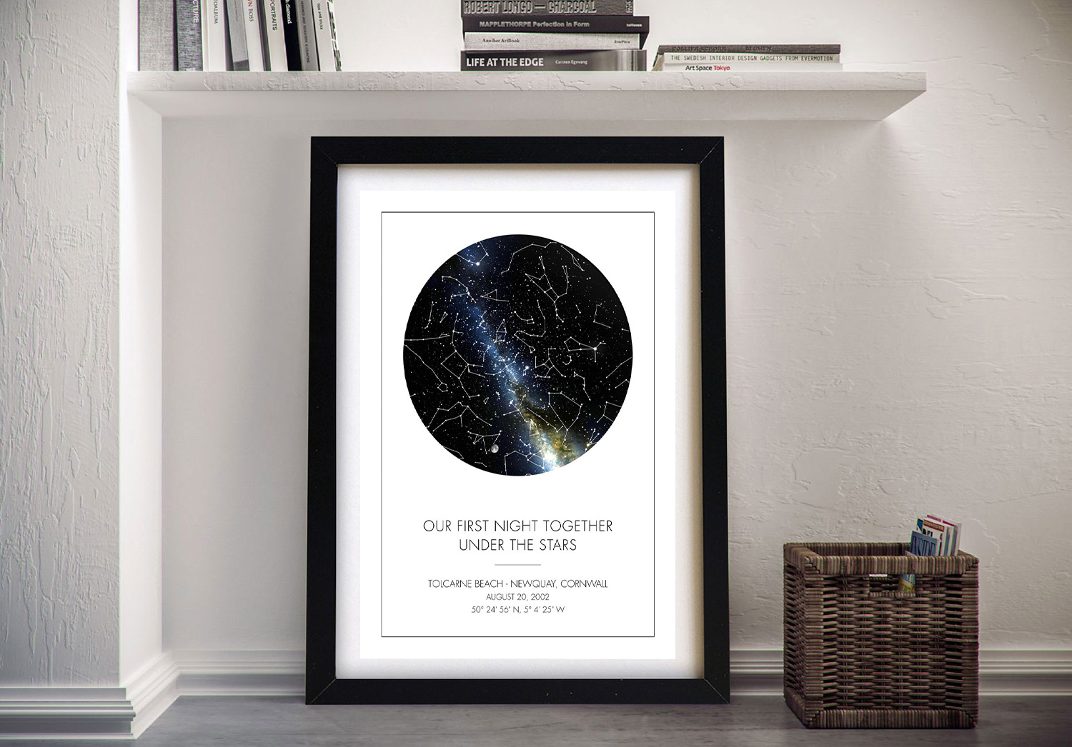 Create Your Own Star Map‎ Online | Personalised Star Map Style 11