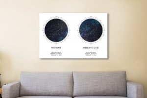 Buy Ready to Hang Unique Personalised Astrology Art