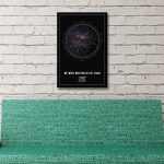 Personalised Star Map Style 2 3