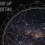 Personalised Star Map Style 2 5