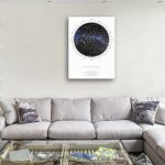 Customised-Star-Map-Canvas-Prints