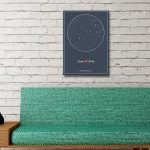 Personalised Star Map Style 8 3