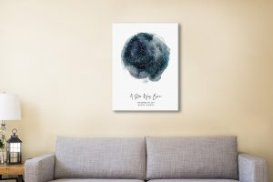 Personalised Star Map Art Melbourne