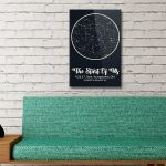 Personalised Star Map Style 7 3