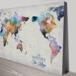 Australia-Centric-World-map-Artwork