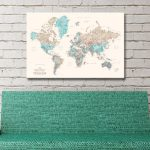 Buy-Unique-Pushpin-World-Maps-In-a-Variety-of-Colours