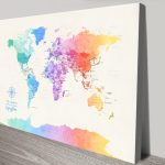 Buy-Colourful-Map-Art-Online