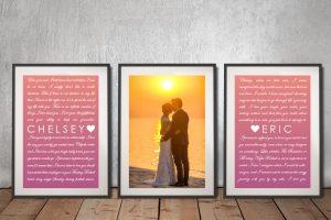 Buy Colourful Personalised Romantic Art