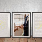 Buy-Affordable-Custom-Romantic-Triptych-Art