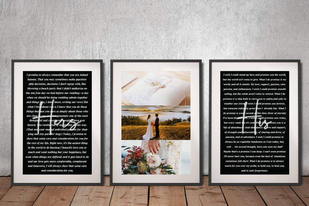 Stunning 3-Panel Canvas Art Wedding Gift Ideas