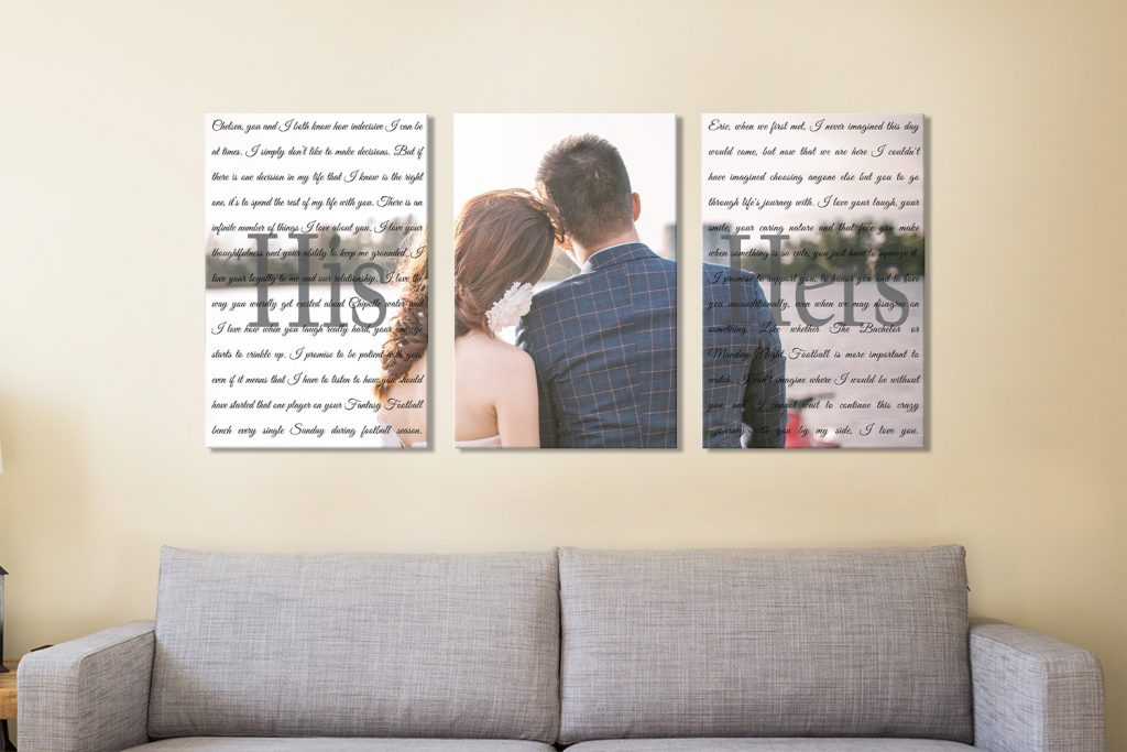 Buy Wedding Couple Vows Canvas Art Online