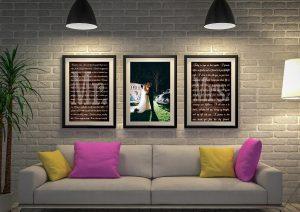 Buy Wedding Vow Triptych Word Art