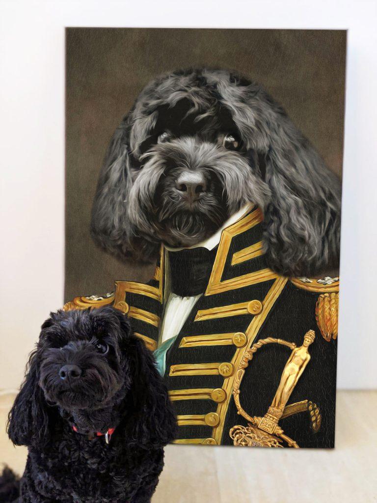Admiral Custom Dog Royal Art