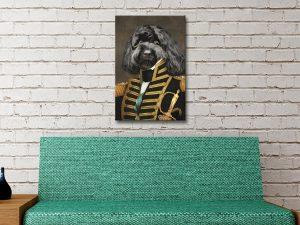 Custom Pet Portrait Wall Art