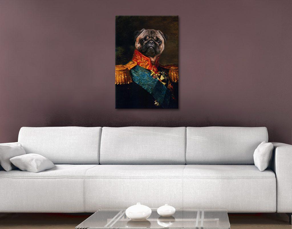 Custom Pet Portrait Art Australia