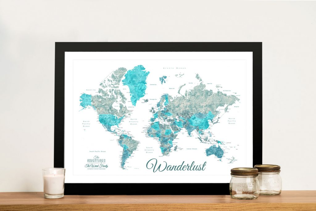 Buy Affordable Map Art in our Online Gallery