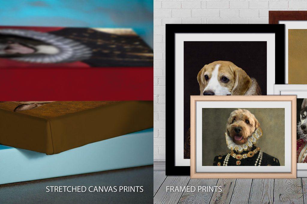 Quality Custom Pet Portrait Prints Pictures Australia