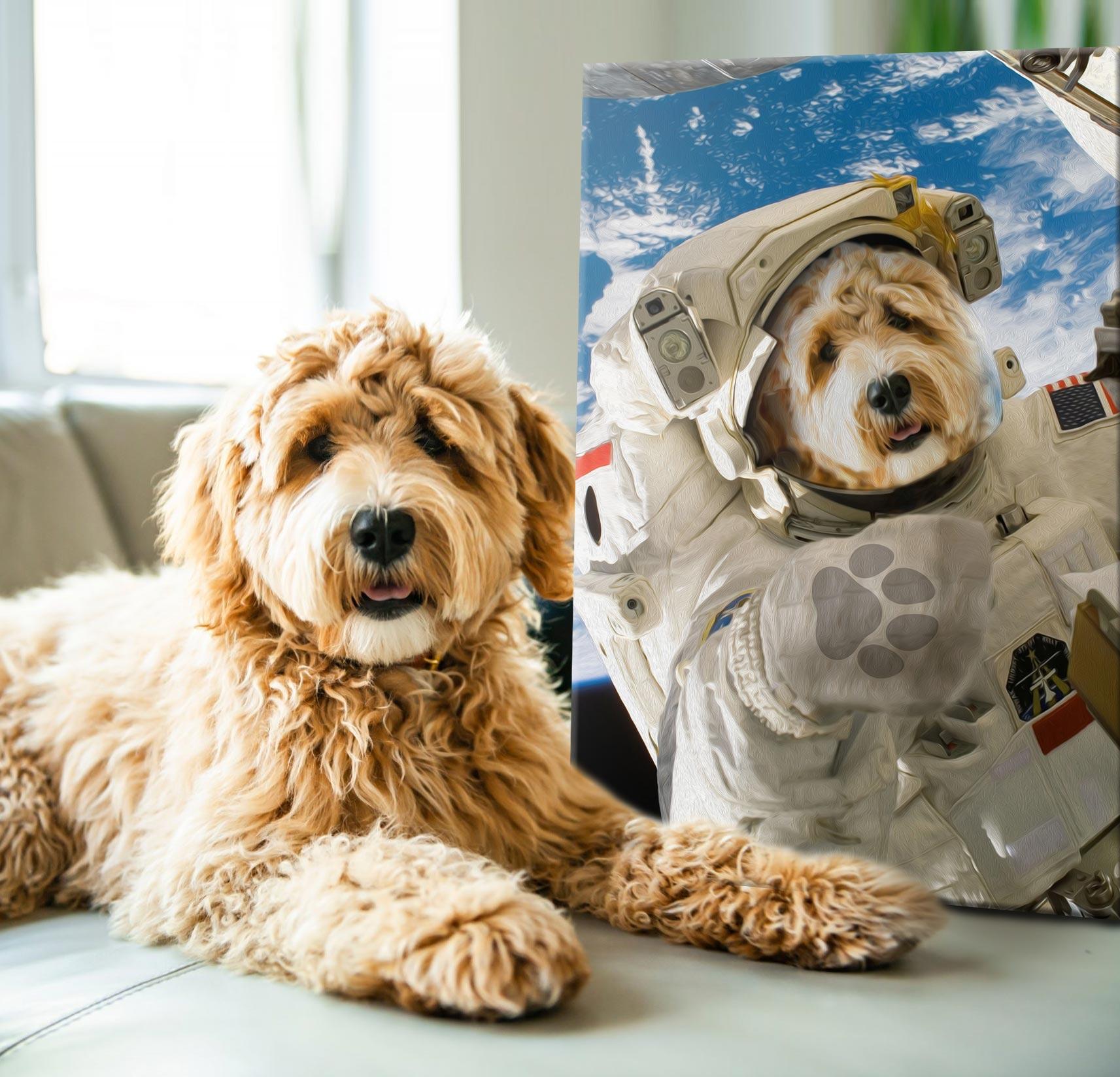 Buy a Custom Astronaut Pet Portrait | The Astronaut