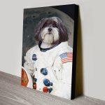 Buy-Custom-Astronaut-Pet-Wall-Art-Online